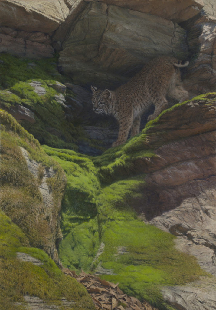 Of A Secret Nature • 2010 • 30 x 21 • Oil on linen