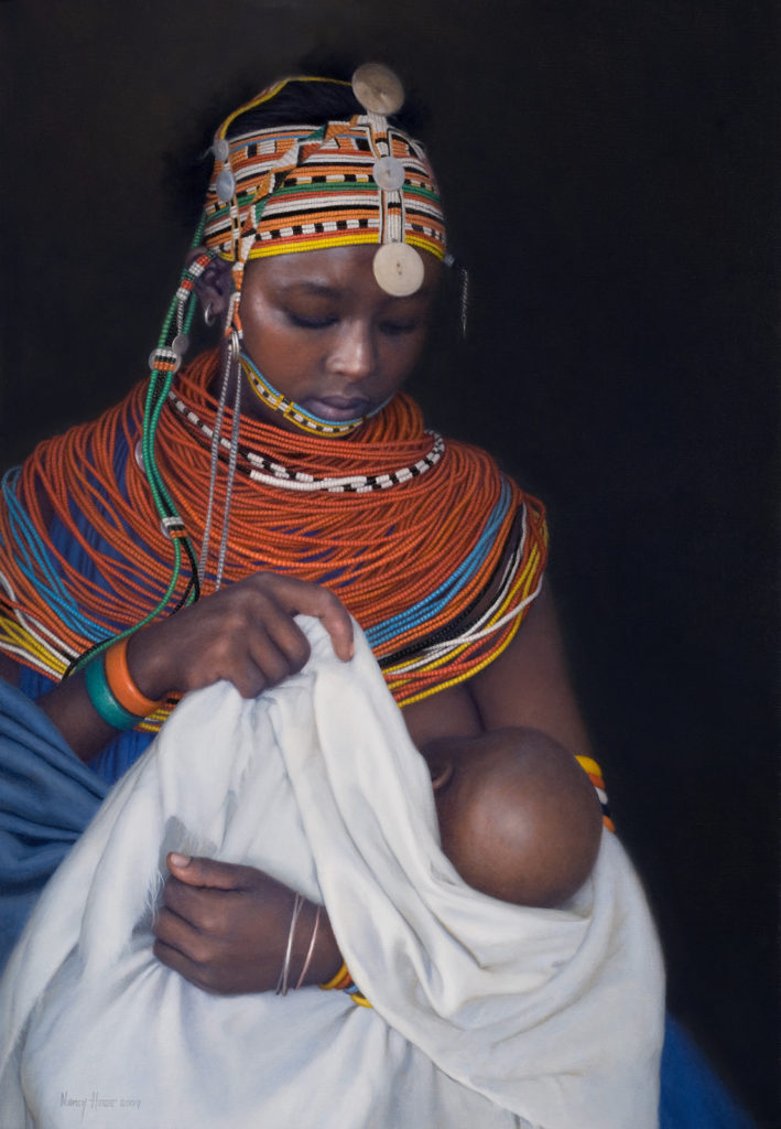 Tender Refrain/First Born • 2009 • 26 x 18 • Oil on linen
