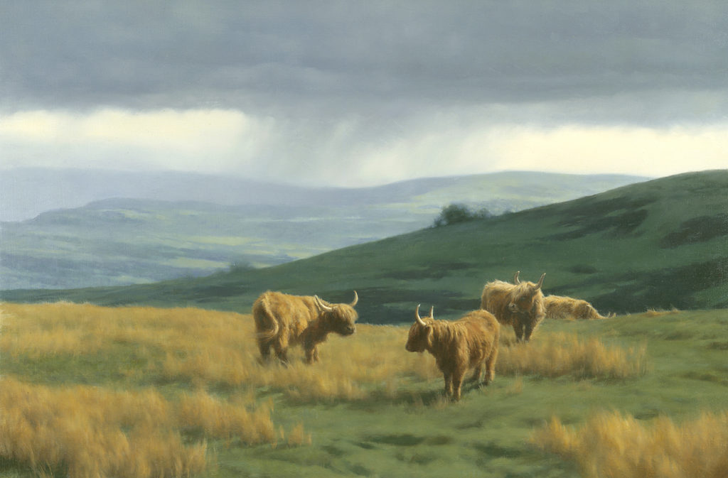 The Highlands • 2000 • 20 x 30 • Oil on Linen